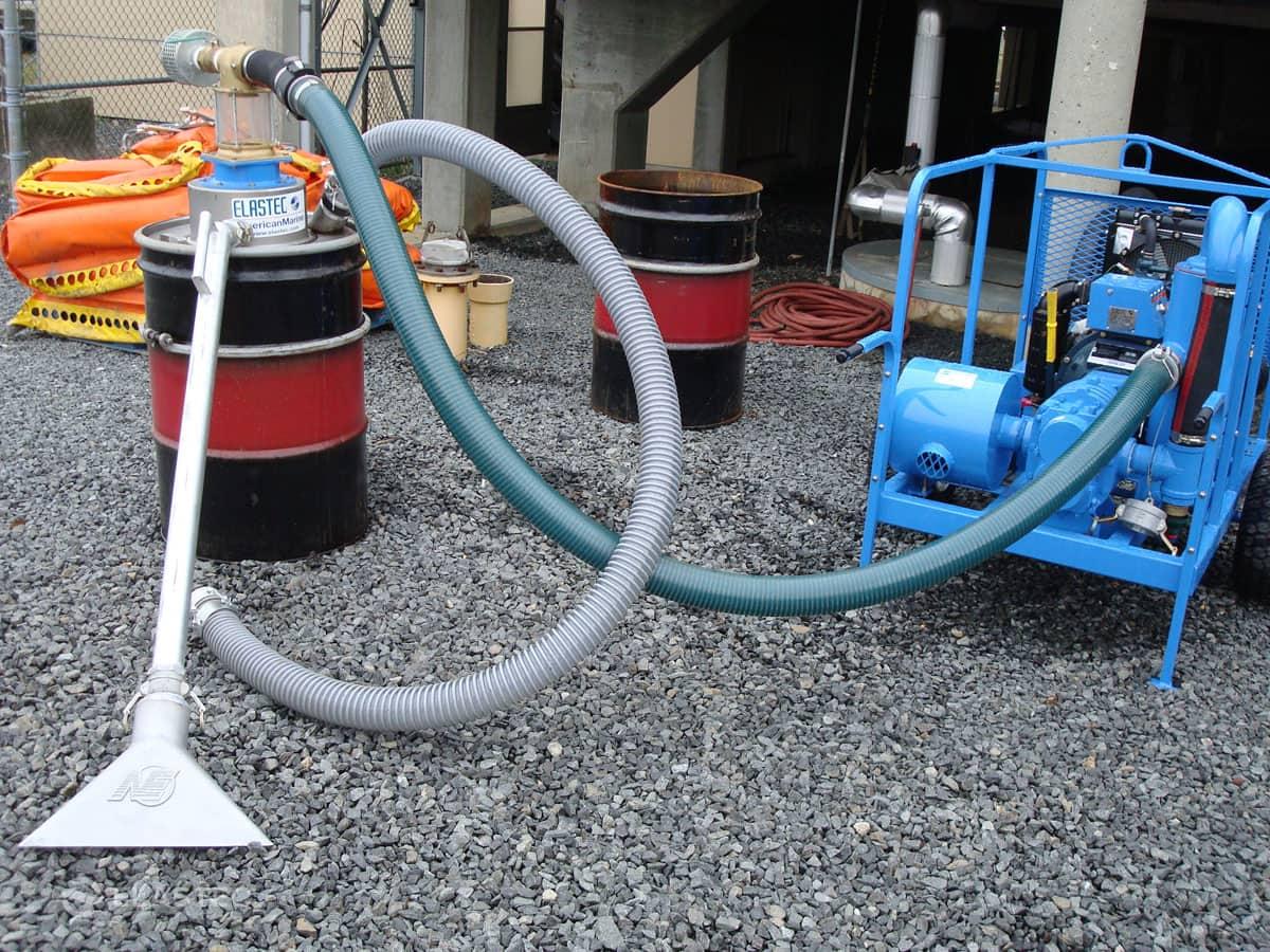 Drumit 55 Gallon Drum Vacuum Head System Elastec