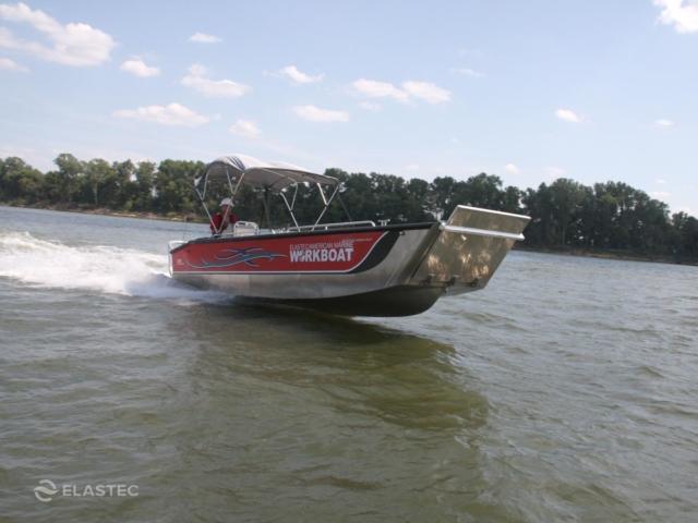 26' aluminum landing craft