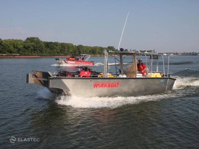 28' and 26' aluminum workboats