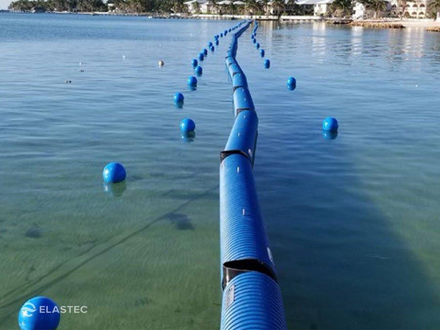 Heavy seaweed barrier