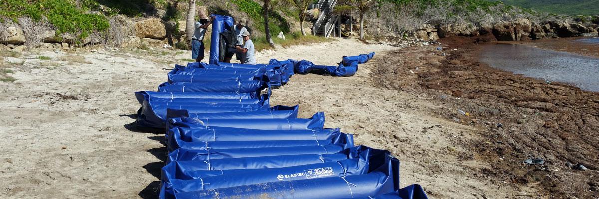 Beach Bouncer barrier improvements